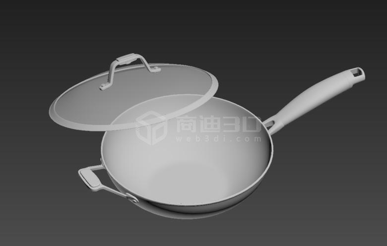 锅铲3D模型