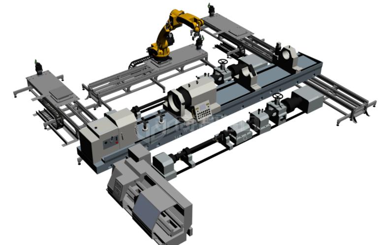 产线3D建模