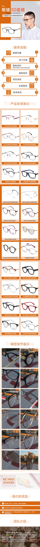 眼镜淘宝详情页制作