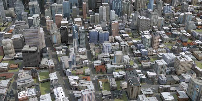 城市三维地图建模