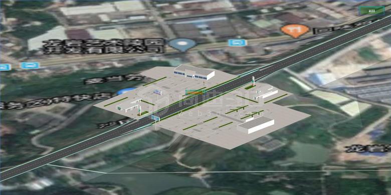 高速路3D地图