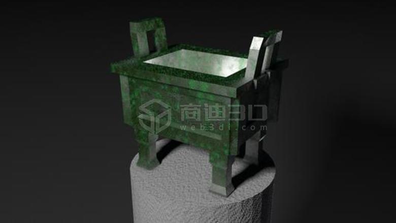 3D线上青铜器VR高清模型展示