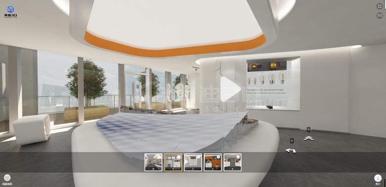 VR虚拟三维展示和企业线上3D展厅是什么?VR展馆怎么做?
