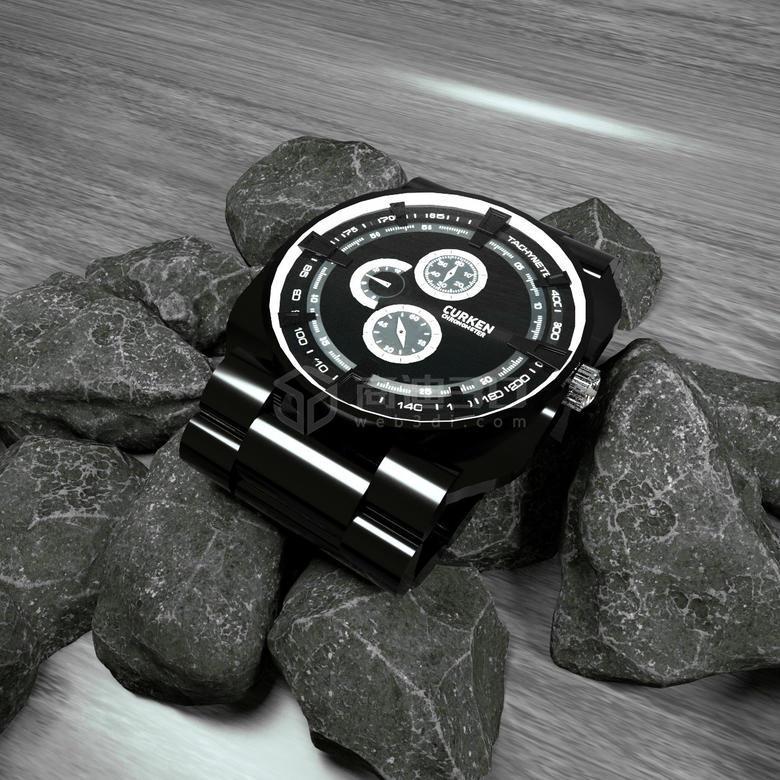 机械手表3D模型线上展示