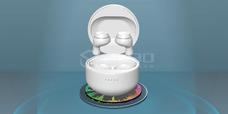 3D耳机VR高清模型在线展示