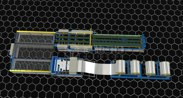 生产线3D物联网管理系统丨三维可视化解决方案