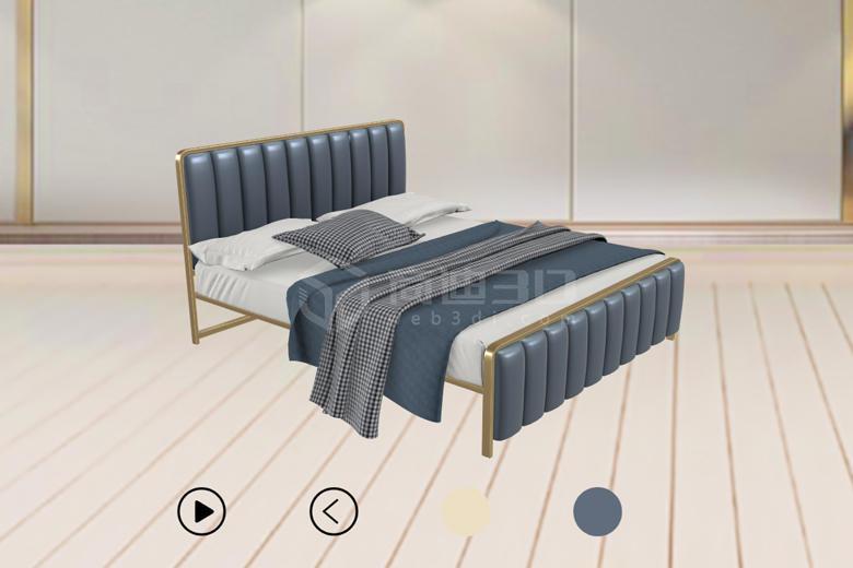 床Web3D模型展现