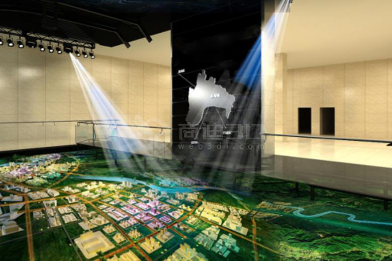 3D电子沙盘应用行业和3d数字沙盘特点