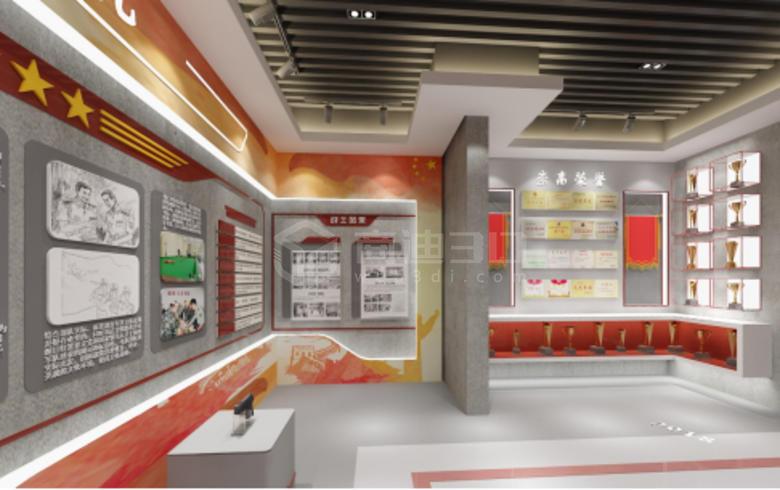 党政宣传虚拟展厅丨企业红色VR展厅