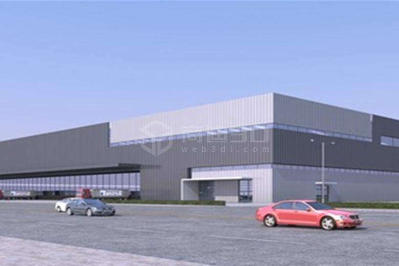 工厂3D建模厂房3D可视化工业三维仿真规划