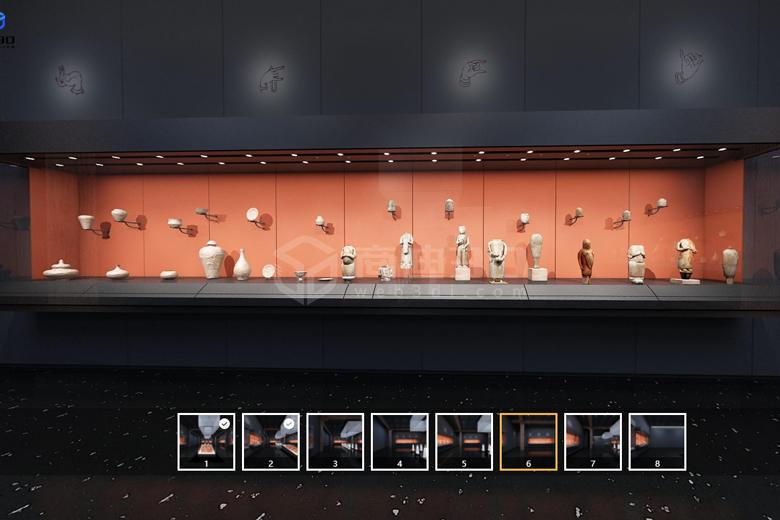 线上党建展厅VR虚拟展厅功能