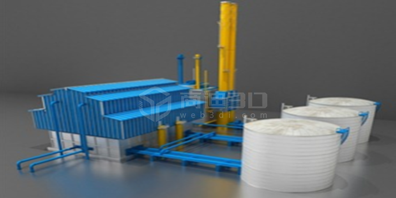 3D工业生产线管理系统