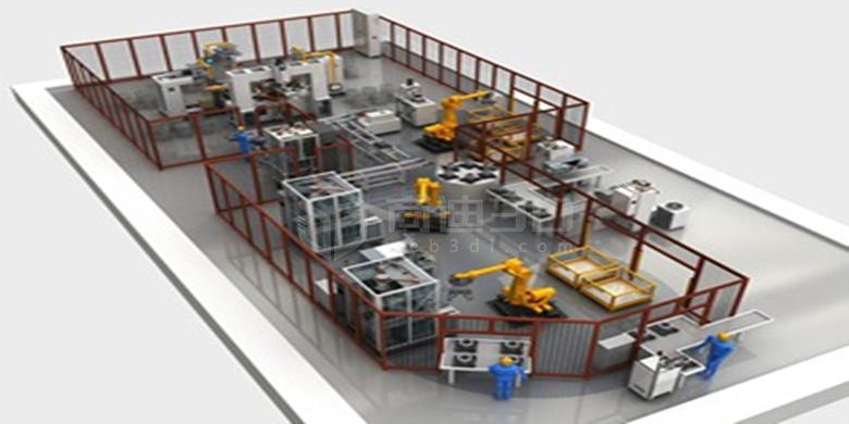 工厂车间3D可视化线上规划管理平台