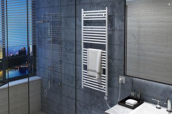 电热毛巾架3D效果图