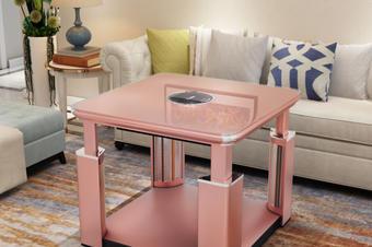 电暖桌效果图建模渲染后现代风格