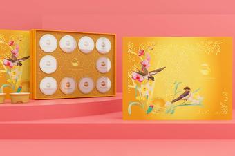 甜品盒效果图制作