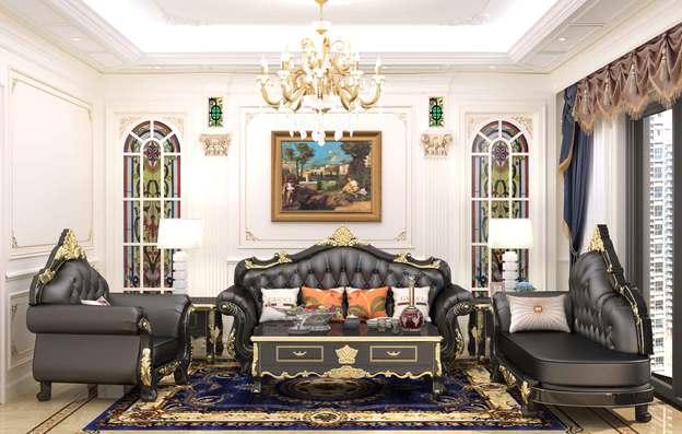 欧式沙发贵族沙发效果图