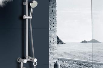 花洒3d效果图制作,浴具3d建模