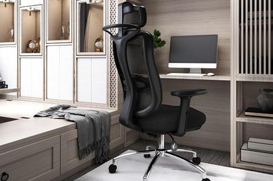 办公椅产品电商宣传3D建模效果图