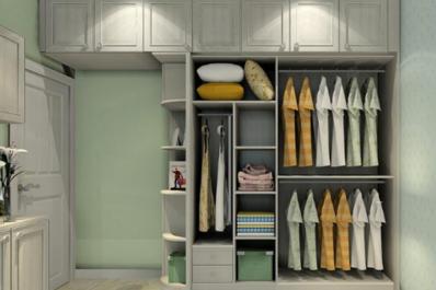 衣柜3D建模效果图制作
