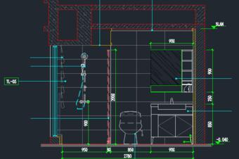 效果图制作——CAD施工图