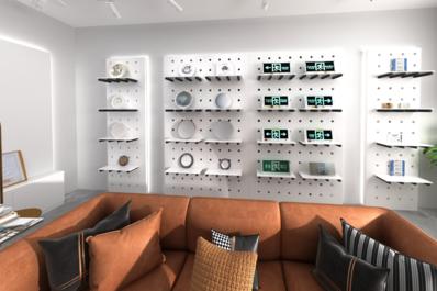 照明设备线上展馆3D建模_线上展会