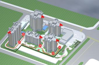 智慧园区安防监控系统