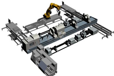工业机器三维建模