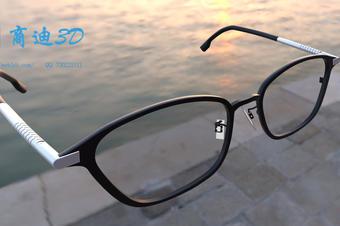 3d眼镜建模_眼镜3d天天彩票示_3d效果图