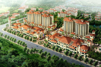 住宅小区3d建模