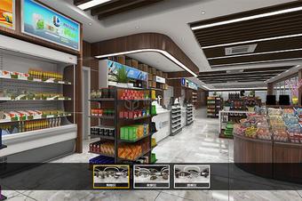 商场、超市室内三维全景VR购物