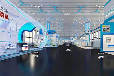 2020年深圳国际智交会线上VR展馆