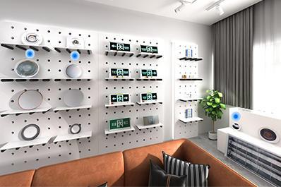 电子照明设备线上展厅|全景VR购物