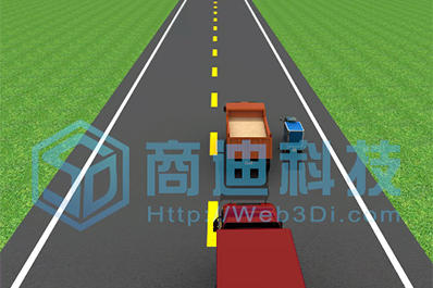 道路交通安全演示三维动画