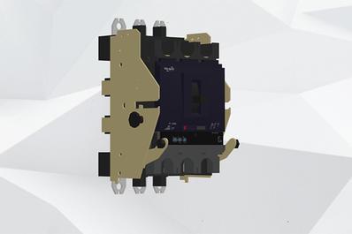 继电器产品3D拆解爆炸图展示