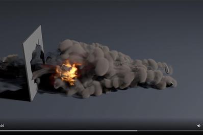 消防安全教育3d动画