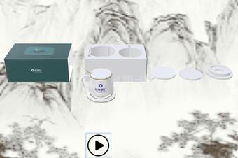 马克杯3d动画演示|茶壶3d拆装交互天天彩票示