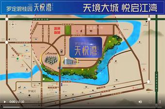房地产项目区位宣传视频