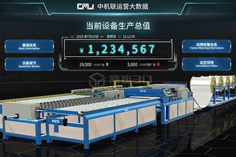 工业设备3D物联网监控仿真系统