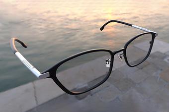 眼镜3D建模