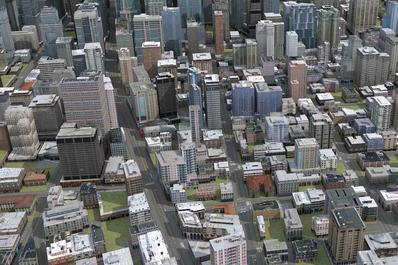 城市三维地图_地图三维建模_智慧城市地图