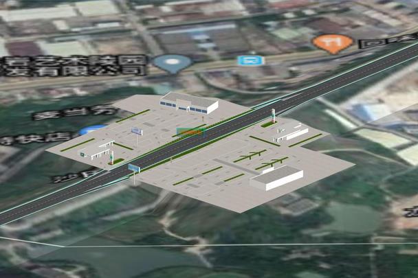 高速路3D地图_三维电子地图