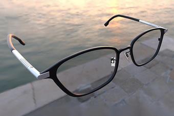 3d眼镜建模_眼镜3d展示_3d效果图