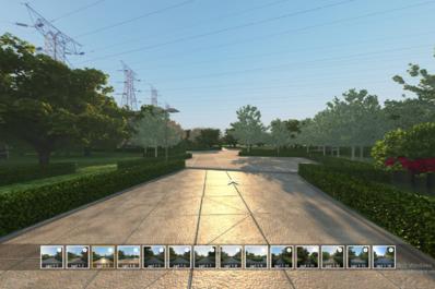 商迪3D三维虚拟现实VR景区全景漫游展示