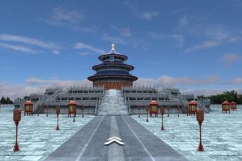 VR景区智能导览三维鸟瞰全景智慧旅游3D线上展示