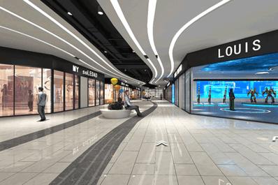 VR虚拟商场三维商场设计制作