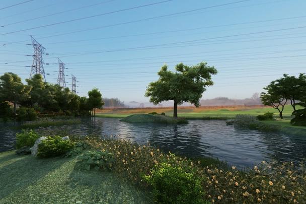 商迪3D虚拟现实VR园林景观三维线上展示