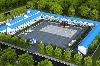 商迪3D打造VR线上3D可视化电子沙盘工厂智能园区大数据平台