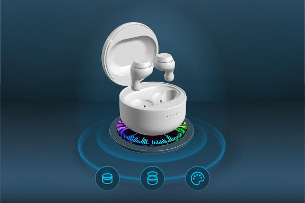 3D可视化耳机建模VR高清模型产品三维在线展示