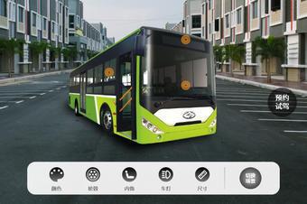 汽车360度旋转展示网页3D加载汽车模型线上VR虚拟3D看车展馆